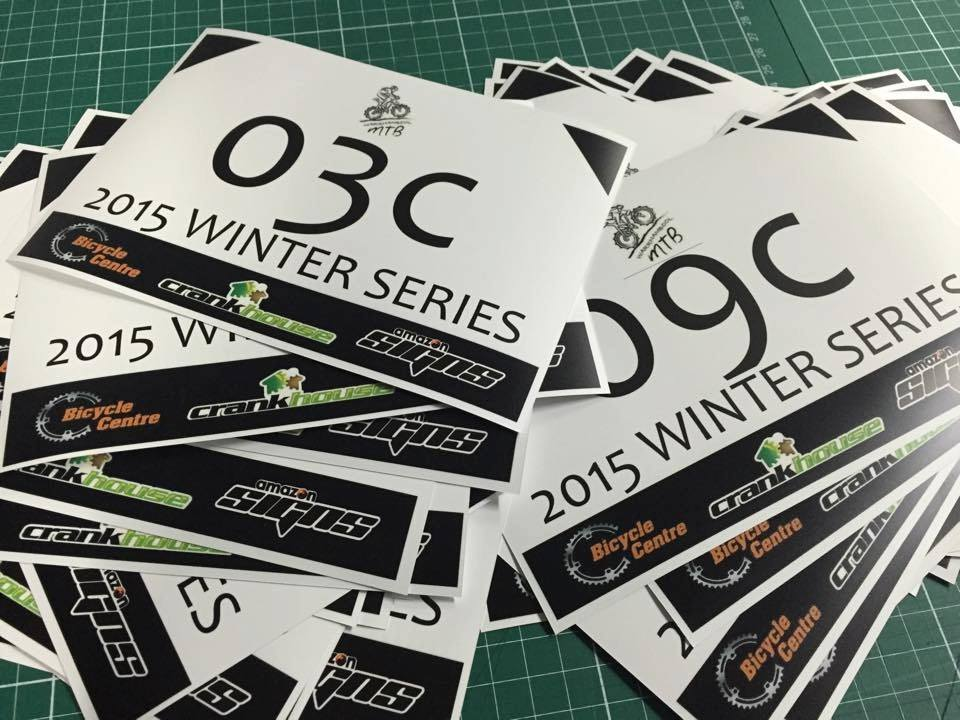 2015 Winter Series raceplates